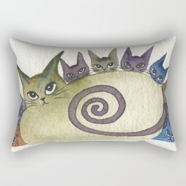 Missouri Whimsical Cats Rectangular Pillow
