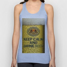 Keep Calm And Drink Beer Unisex Tank Top