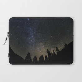 Orionids over Big Sky Laptop Sleeve