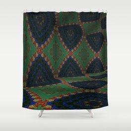 Iconic Hollows 11 Shower Curtain