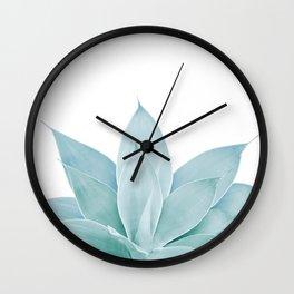 Green Agave #1 #tropical #decor #art #society6 Wall Clock