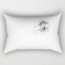 square fantasy lonely Rectangular Pillow