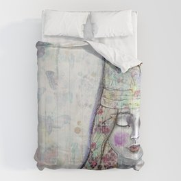 Butterfly Crown by Jane Davenport Comforters