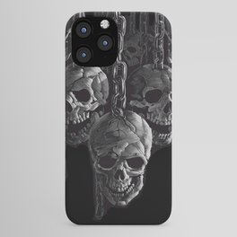 Skulls In Chains iPhone Case
