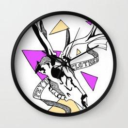 Tom PEYTON SKULL Wall Clock