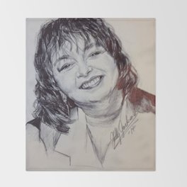 ROSEANNE BARR Throw Blanket