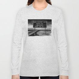 Marfa Mystery Lights, Texas Long Sleeve T-shirt