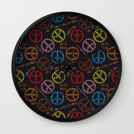 kind Space Invaders Wall Clock