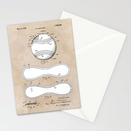 patent Maynard Baseball 1927 Stationery Cards