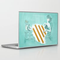 tiffany Laptop & iPad Skins featuring Tiffany by Shaina Anderson