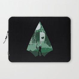 Arrow green Laptop Sleeve