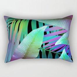 Island Leaves Rectangular Pillow