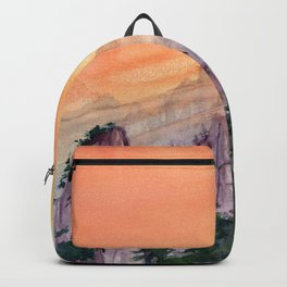 Morning Light On The Mountain Backpack