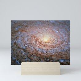 Galaxy Messier 63 Deep Field Telescopic Photograph Mini Art Print