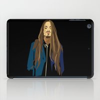 gangster iPad Cases featuring Gangster by Elena Medero