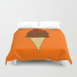 Chocolate Ice Cream Duvet Cover