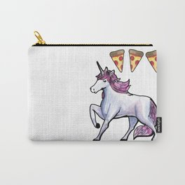 unicorn pizza love Carry-All Pouch
