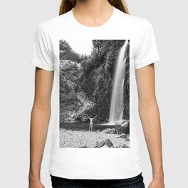 Naked Long Exposure Waterfall T-shirt