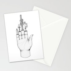 The magic hand Stationery Cards