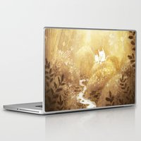 woodland Laptop & iPad Skins featuring Woodland by Foya