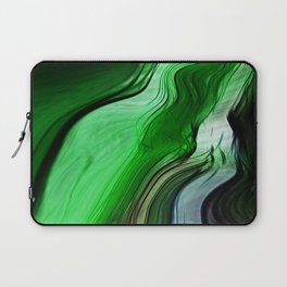 Liquid Grass Laptop Sleeve