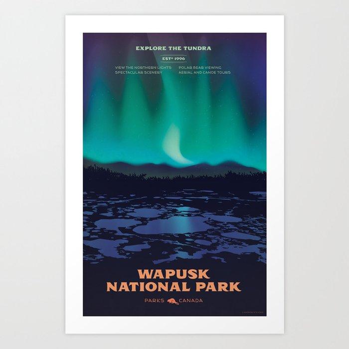 Wapusk National Park Poster Art Print