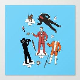 Cut It Out: Ron Burgundy Canvas Print