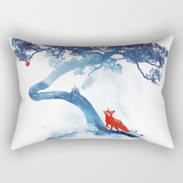 The last apple tree Rectangular Pillow