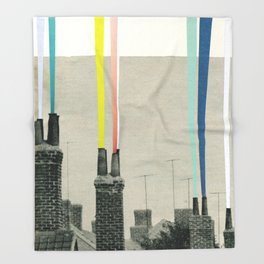 Smoke City Throw Blanket