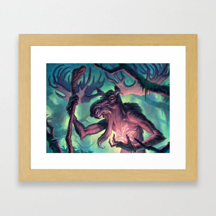 Moose Shamman Framed Art Print