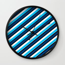 Johnathon's Palette Wall Clock
