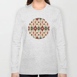 American Native Pattern No. 103 Long Sleeve T-shirt