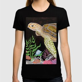 Sea Turtle, Reef Fish T-shirt