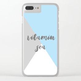 Vitamin C Sea Clear iPhone Case