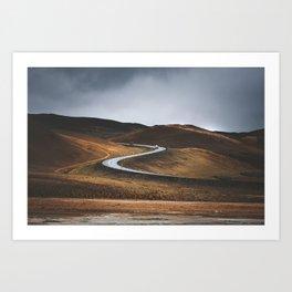 Swinging Road Art Print