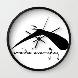 Create Everyday Wall Clock