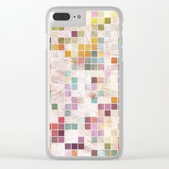 Aztec Vintage Pattern 02 Clear iPhone Case