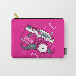 Nicky Digital's Mustachioed Camera Man Carry-All Pouch