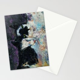 Two Cats Stationery Cards