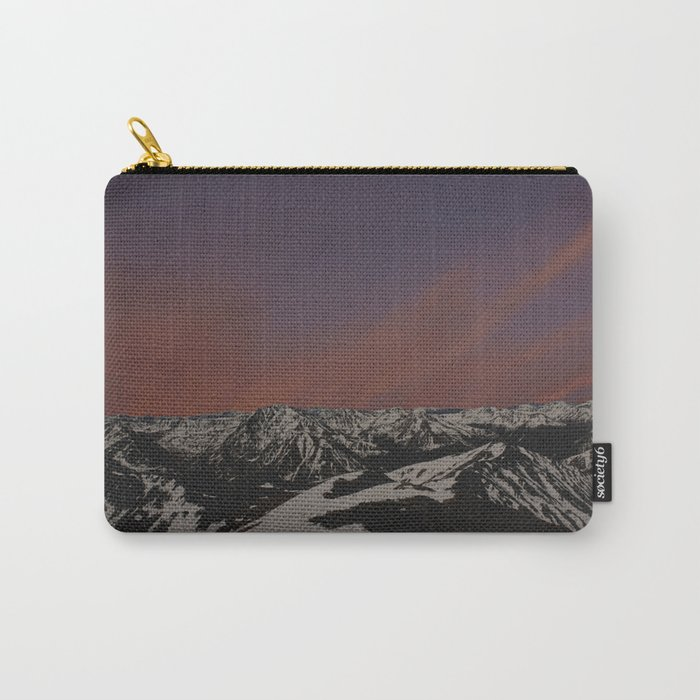 Sunset on Elbert Carry-All Pouch