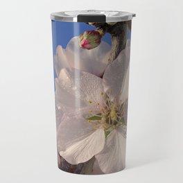 Almond blossom branch Travel Mug