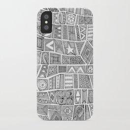 ESHE black white iPhone Case