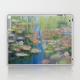 Water Lily Pond Laptop & iPad Skin