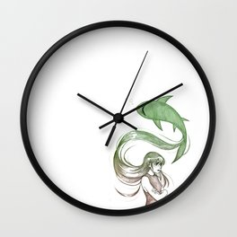 Inner Thoughts VI Wall Clock