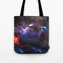 Beauty of Pollution / Aerosol Earth - Eastern Part Tote Bag