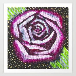 Glamour Rose - Mazuir Ross Art Print