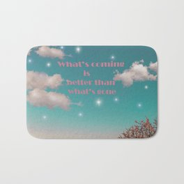 good starry days are coming Bath Mat