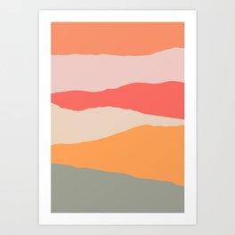 The Land 1 Art Print