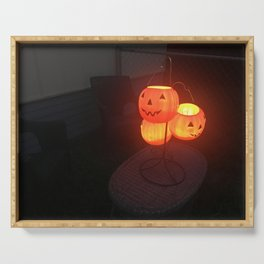 Halloween Lantern Serving Tray