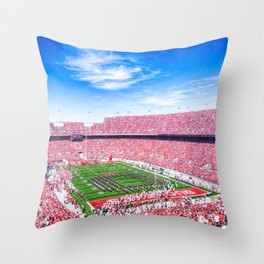 Block O Throw Pillow